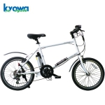 Kyowa Cycle(キョウワサイクル) YB20A【20インチ6段変速ミニベロ型電動アシスト自転車】
