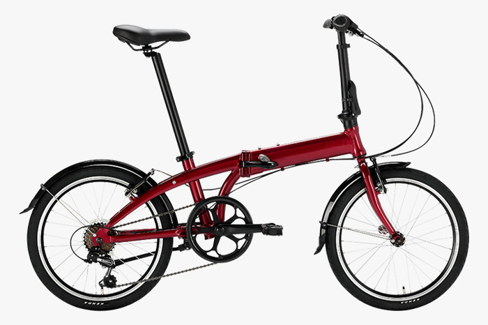 Tern Link A8 Dark Red/Red(ダークレッド/レッド)の概観